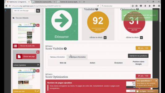 Comment gérer son référencement Google avec Optimiz.me : la démo ! – version complète