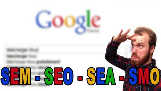 Qu'est ce que le Référencement – SEM – SEO -SEA – SMO | ad-min