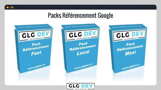 Les Packs référencement Google