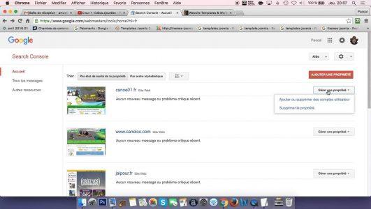 Le référencement d'un site Joomla auprès de Google»2eme partie» par Joomla-thème.fr