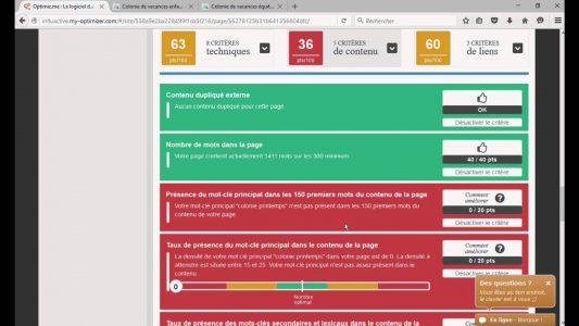Comment gérer son référencement Google avec Optimiz.me : la démo ! – version courte